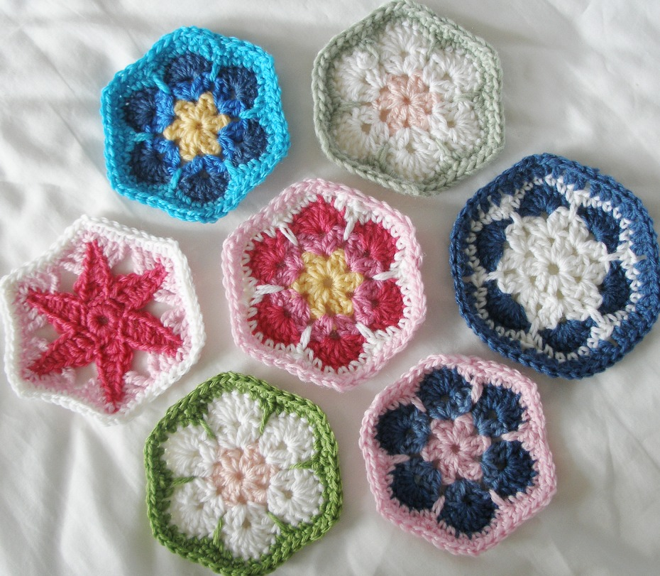 I seem to have developed a thing about hexagons .....