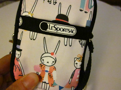My Fifi Lapin Le Sport Sac case I got in Hong Kong.