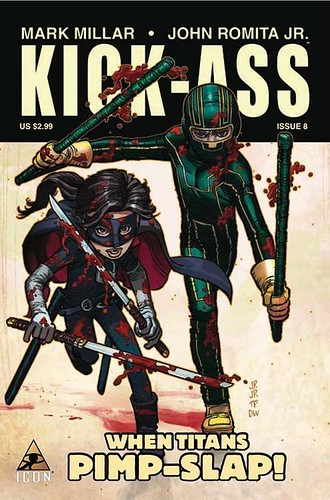 kick-ass comic book cover