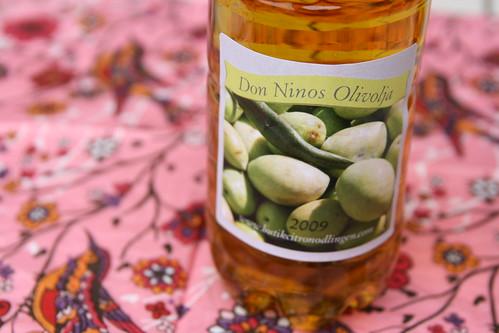 Produkttest: Don Ninos olivolja