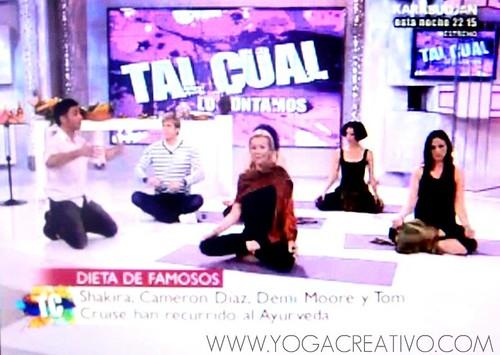 DIETA AYURVEDA  ENTREVISTA TV MADRID