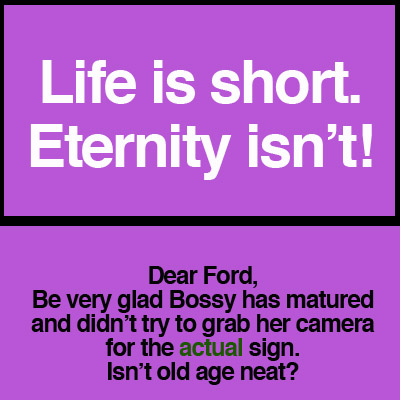 life-is-short-sign