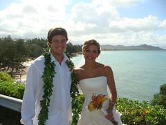 18- Mr. & Mrs Stinton @ Lanikai Beach (HaYnCaNdi808) Tags: oahu mark hi lanikai meighan stintonwedding