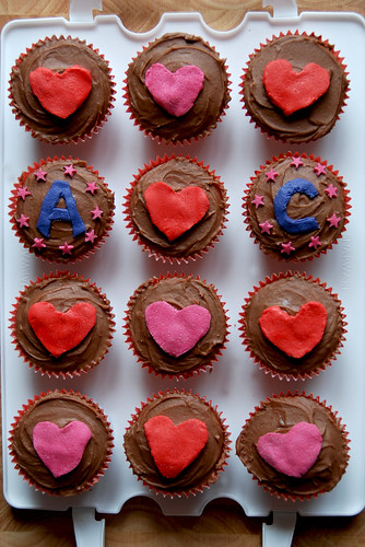 Cupcakes: A hearts C