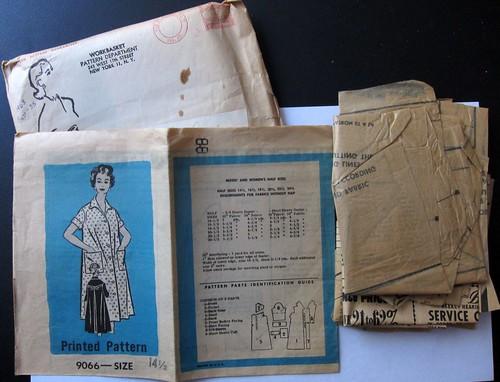 Vintage Mail Order Pattern 9066