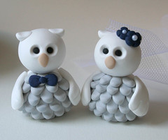 Owls Wedding Cake Topper (fliepsiebieps1) Tags: