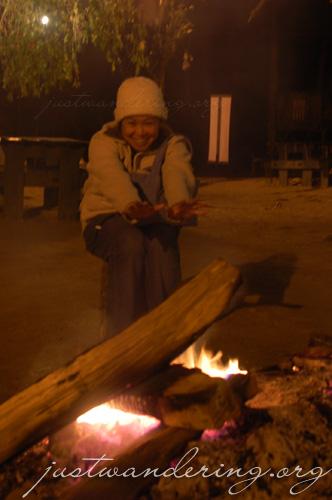 Baguio bonfire
