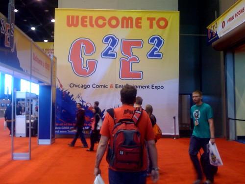 C2E2 entrance