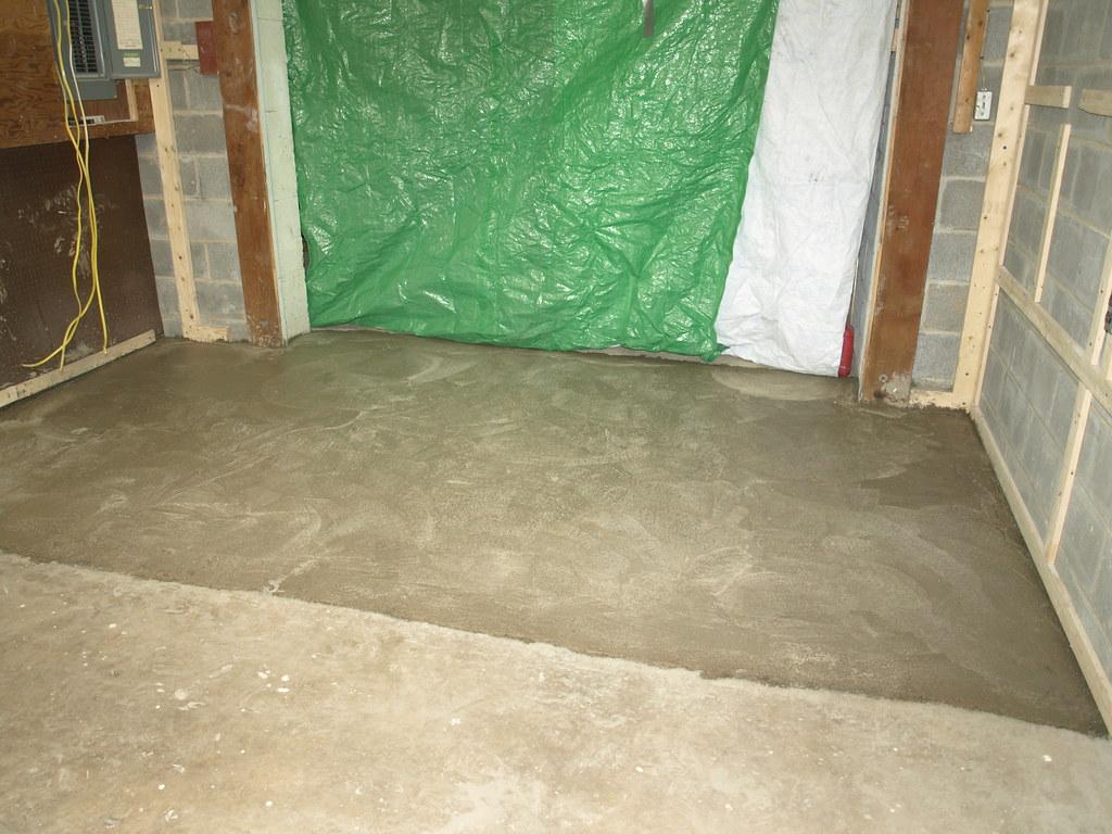 workroom 18 workroom concrete floor poured