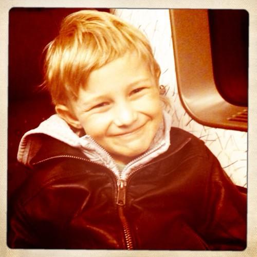 Jack på tåget