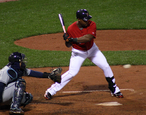 Beltre at Bat