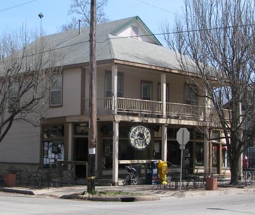 Riverside Perk coffeehouse, 11th & Bitting, Wichita
