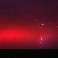 Rayos en tormentas de polvo