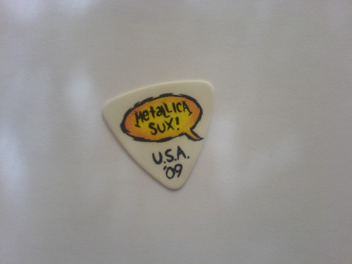 Metallica's trophy