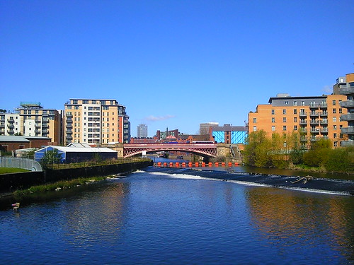 View from Clarence Dock Leeds