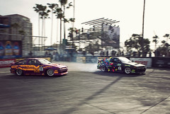 Eight-Six Duel (bhop) Tags: beach race demo nikon long d grand automotive racing prix toyota formula d200 corolla motorsport drifting drift dx ae86 1755 f28g