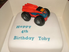 DSCF2896 (Joanne Marie Cakes) Tags: birthday cake chocolate monstertruck