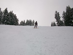Second Day at Mt. Bachelor: All Fresh Powder (cozmo54901) Tags: oregon bend snowboard sunriver mtbachelor