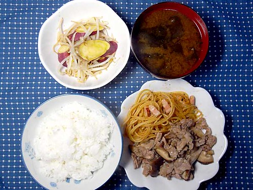 2010年4月24日の晩ご飯