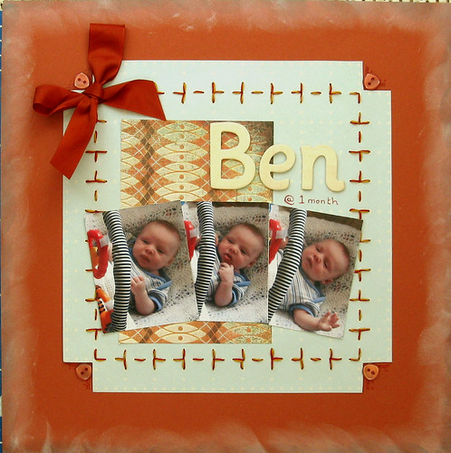 Ben @ 1 Month