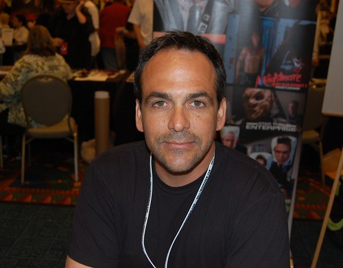 Robert Rusler at the Hollywood Show