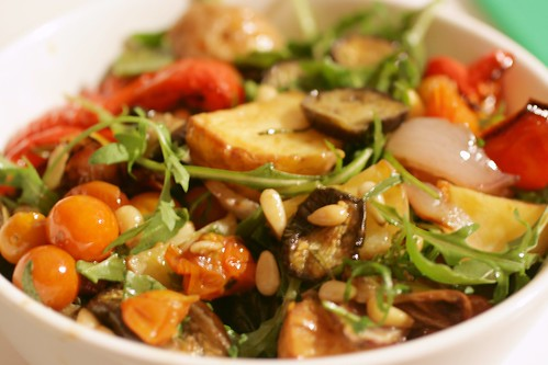Day 112 - Roast Vegetable Salad