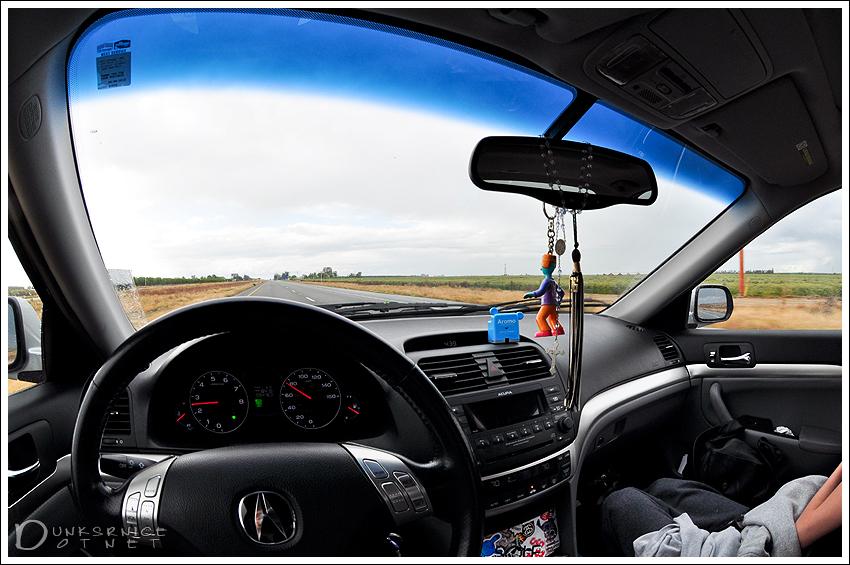 Driver seat.