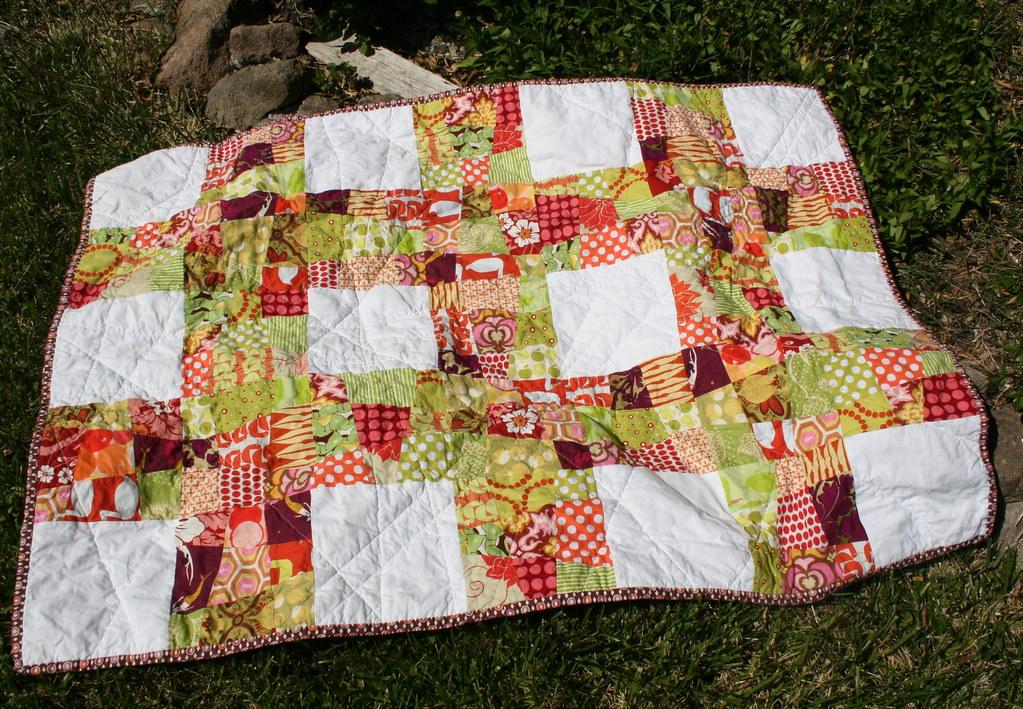 Crazy Nine-Patch Quilt : crazy nine patch quilt - Adamdwight.com