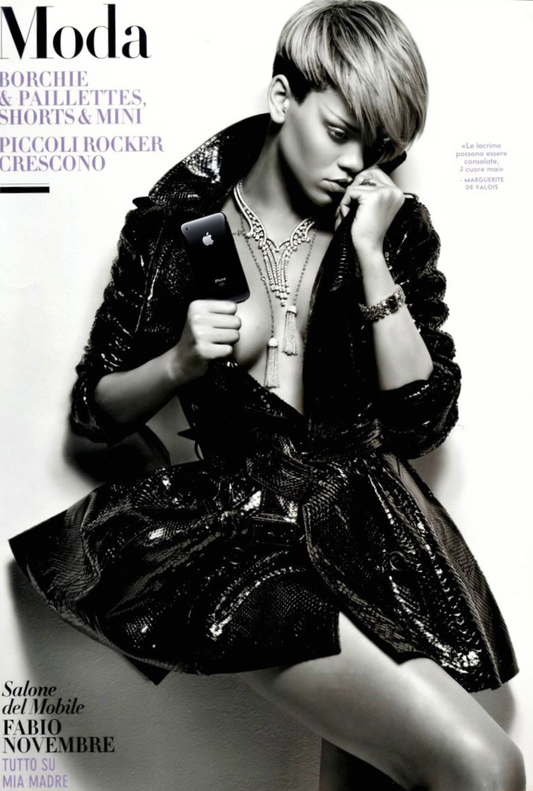 Rihanna Vanity Fair Italy Cover