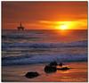 Rigged Sunset (Panorama Paul) Tags: sunset oilrig blaauwbergstrand nohdr melkbosstrand sigmalenses mywinners shieldofexcellence nikfilters vertorama nikond300 wwwpaulbruinscoza paulbruinsphotography derdesteenbeach