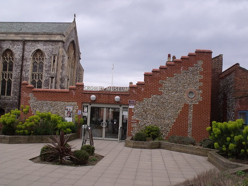Cromer Museum - entrance from Church Street