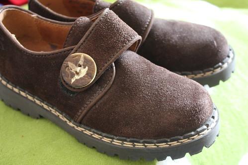 Neue Haferl Schuhe von Richter für 2.-