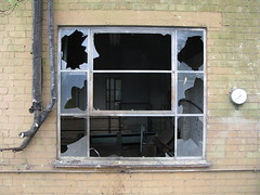 Windows (phatcontroller) Tags: windows broken derelict greenhouses oaklands g9
