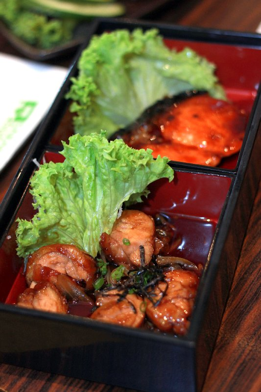 salmon chic teriyaki