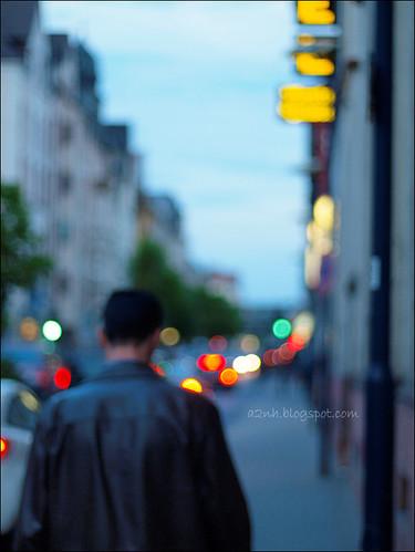 A moody walk