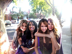 4 girls u might know  :P (francyxO) Tags: semi taylor demi swift cyrus selena gomez miley lovato maylor