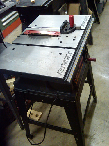 Craftsman 10in 2.5HP 13Amps 5000RPM Table Saw 137.218780 - 1