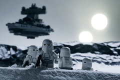 The Arrival of a Star Destroyer (Avanaut) Tags: white snow trooper cold macro ice toy toys star miniature starwars lego artistic helmet wars minifig 60mm darkside hoth originality stardestroyer snowtrooper theempirestrikesback theotherside legography allrightimadethatup