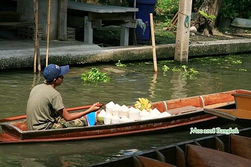 Dammnoen Saduak Floating Market-6