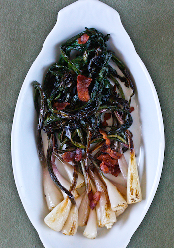 ramps and bacon top
