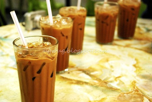 Kopi Ping (Coffee with ice)