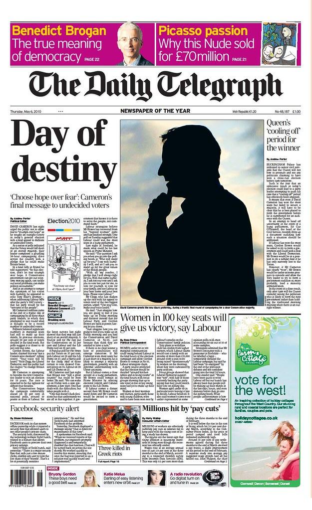 Telegraph 6 May