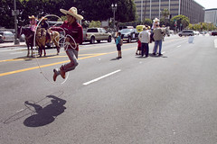 rope trick (susan catherine) Tags: cowboys mexicana losangeles downtown oops forcincodemayo butimadaylate