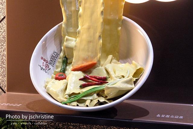 巨大拉麵模型