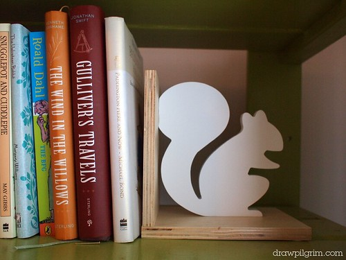 my son's new 'big kid' bedroom: bookend