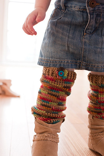 Cozy Crawlers Legwarmers from Little Crochet