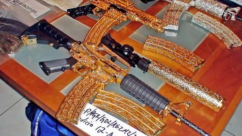 armas de oro