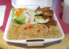 Pork – Sweet & Sour / Schweinefleisch süß-sauer (JaBB) Tags: cambridge food lunch essen rice reis foodcourt mittagessen gemüse foodblog nahrung nahrungsmittel asiatisch foodblogger