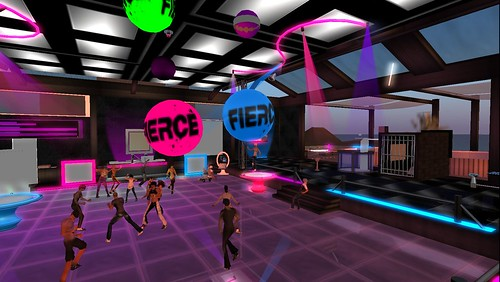 party at fierce night club
