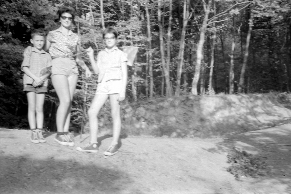 1964. Summer. In Bükk Mountains